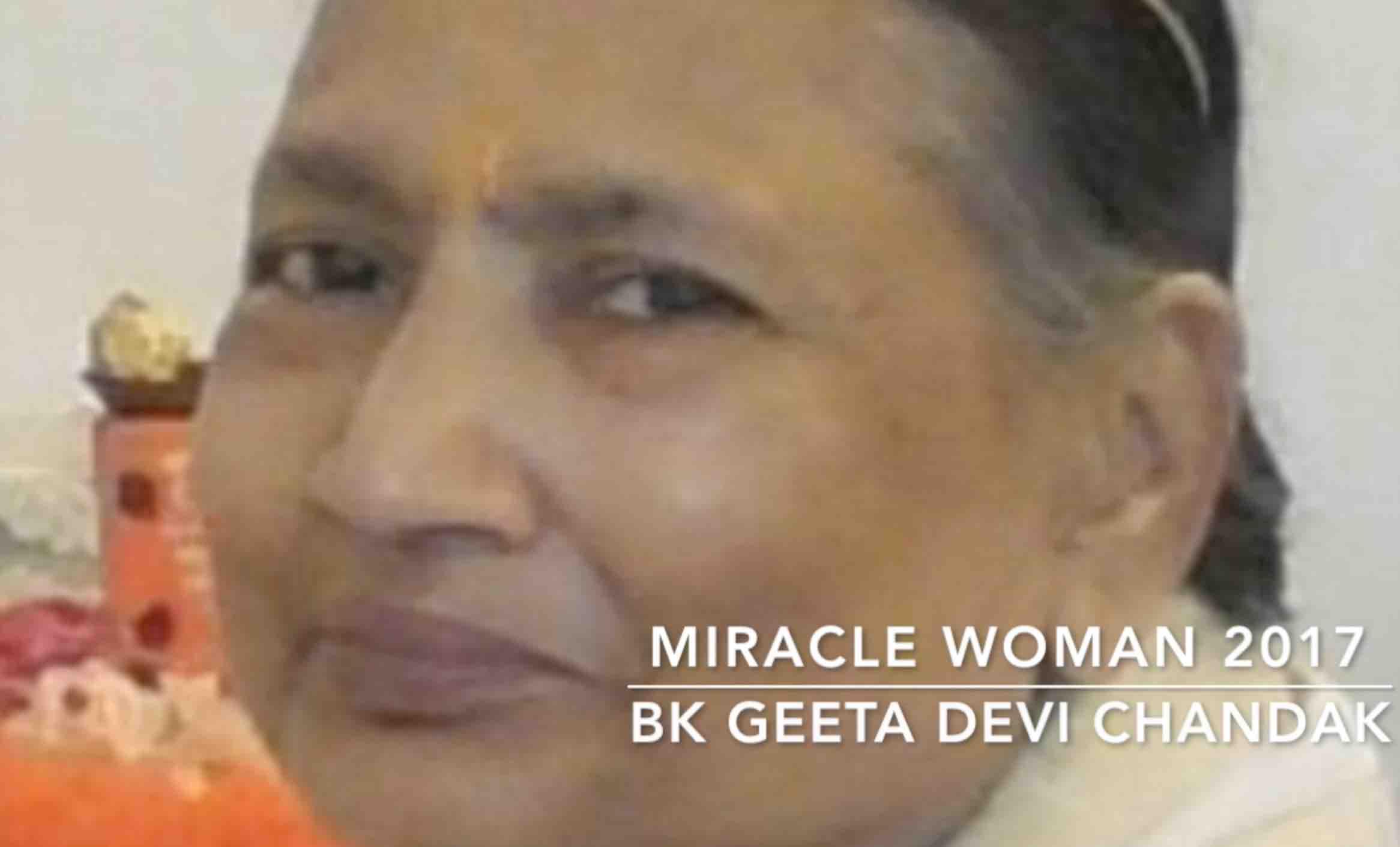 2017 MIRACLE WOMAN